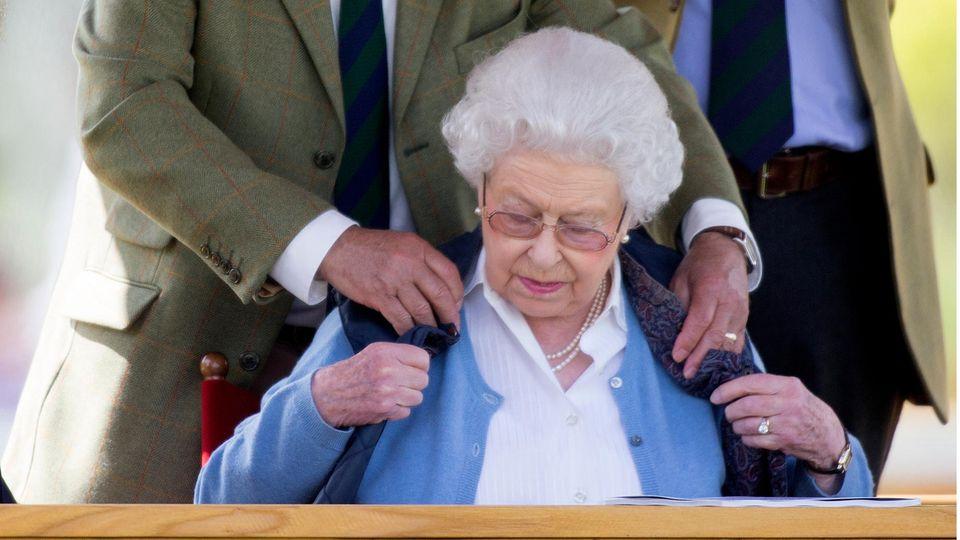 Terry Pendry und Queen Elizabeth
