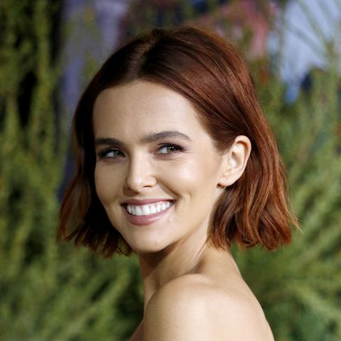 Copper Bob: Zoey Deutch trägt den Copper Bob