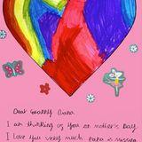 """""""Papa vermisst dich"""": Prinzessin Charlotte, die mit ihren 5 Jahren auch schon toll schreiben kann, bringt die royalen Fans mit dieser süßen Nachricht zum Weinen."""
