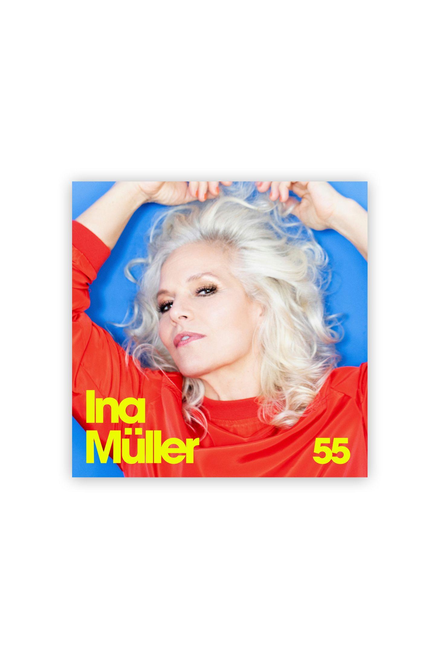 """Eine von unsRaue Stimme, weicher Kern: Das mittlerweile siebte Studioalbum desplatinblonden Nordlichts begeistert erneut mit smarten Texten, tollen Melodien und einer gehörigen Prise Humor. """"55"""" von Ina Müller, ca. 15 Euro"""