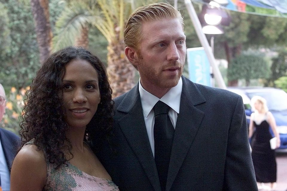 Barbara und Boris Becker im Jahr 2000