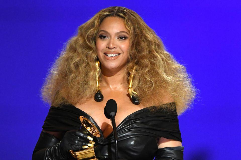 Beyoncé bei den 63. Grammy Awards in Los Angeles