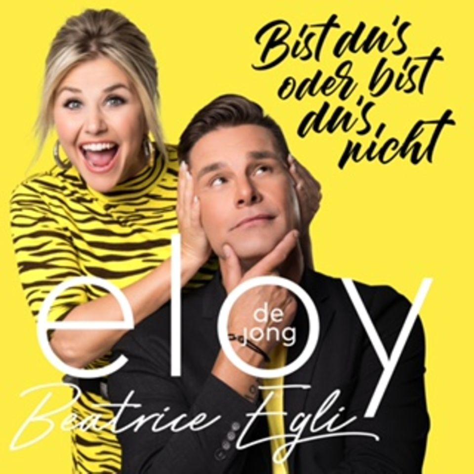 """Eloy de Jong und Beatrice Egli singen das Duett""""Bist du's oder bist du's nicht"""""""