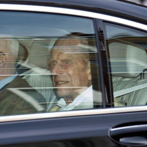 Prinz Philip verlässt am 16. März 2021 das Krankenhaus.