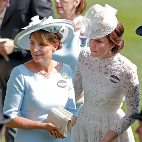 Carol Middleton und Herzogin Catherine