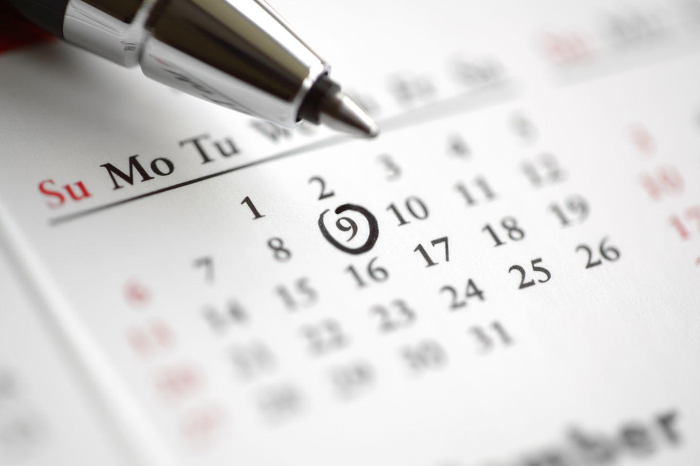 Sport Motivation: Kalender