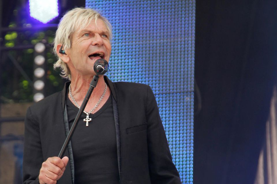 Matthias Reim auf der Bühne