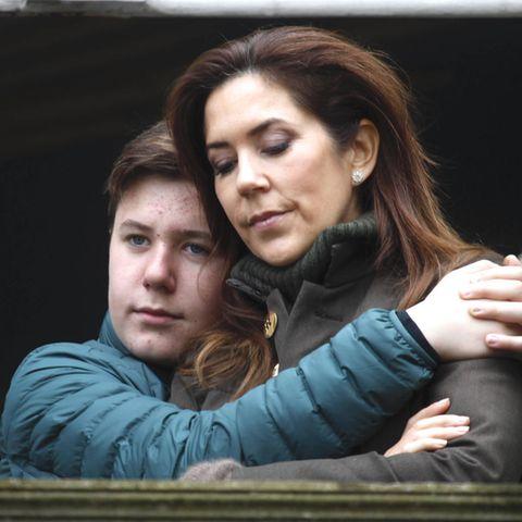 Kronprinzessin Mary mit Sohn Prinz Christian