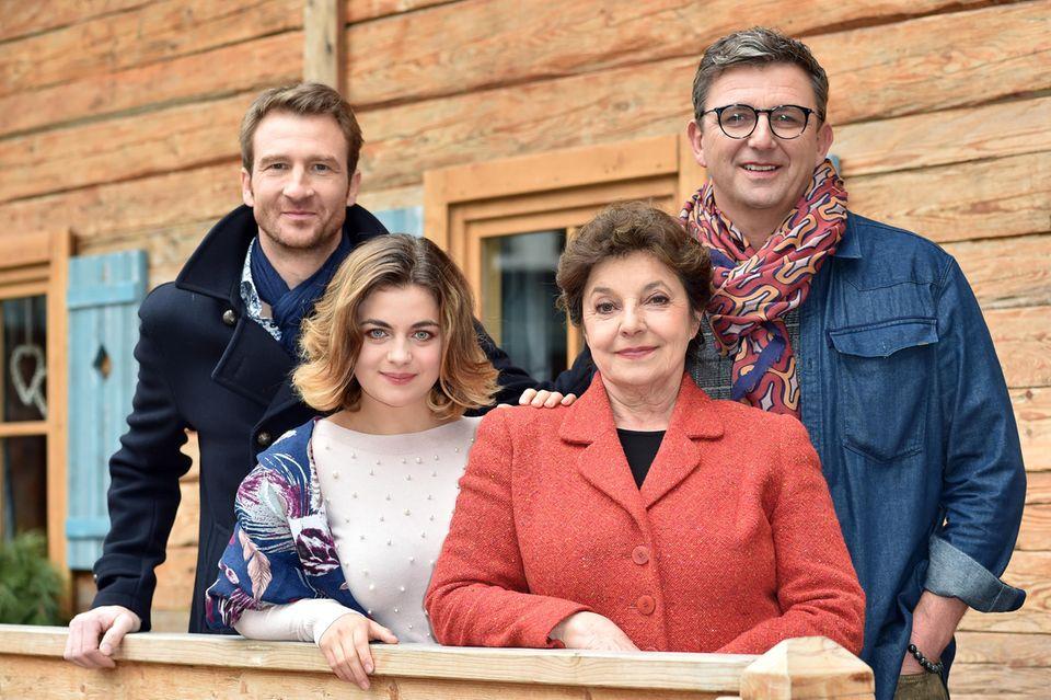 Heiko Ruprecht, Ronja Forcher, Monika Baumgartner und Hans Sigl