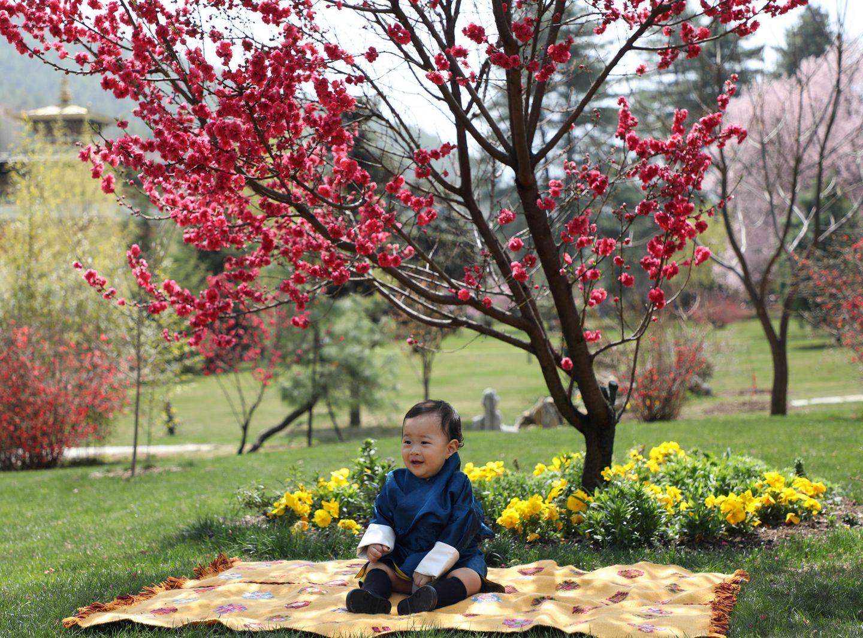 19. März 2021  Prinz Ugyen von Bhutan feiert seinen ersten Geburtstag! Im Garten des Lingkana-Palasts entstehen zu diesem Anlass eine Reihe zuckersüßer Geburtstagsfotos mit der kleinen Familie.