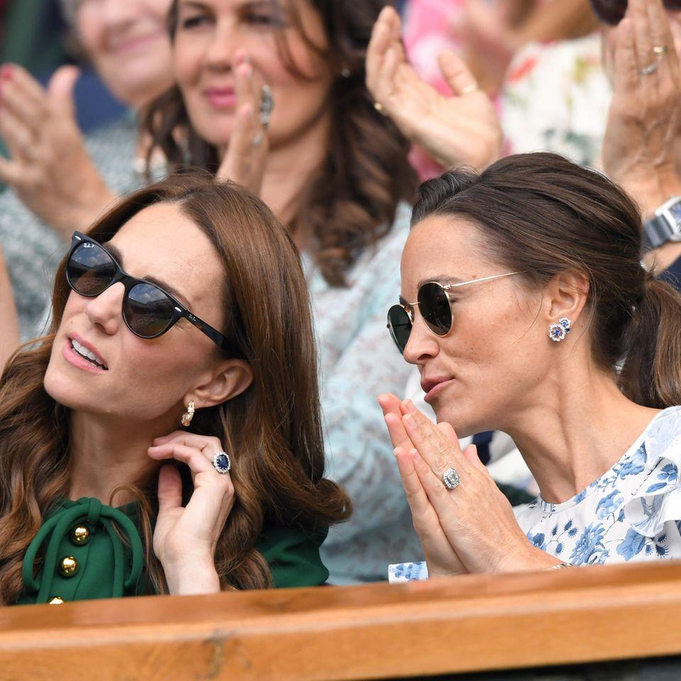 Herzogin Catherine + Pippa Middleton