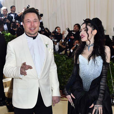 Elon Musk und Grimes