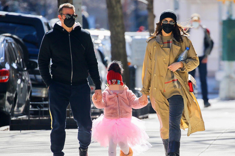 Bradley Cooper und Irina Shayk mit Tochter Lea