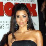 2003  In den frühen2000ern waren transparente Looks sowie antoupierte und halb hochgesteckte Haare ein stylischer Trend, den auch Eva hier bei einer Emmy-Party rockte.