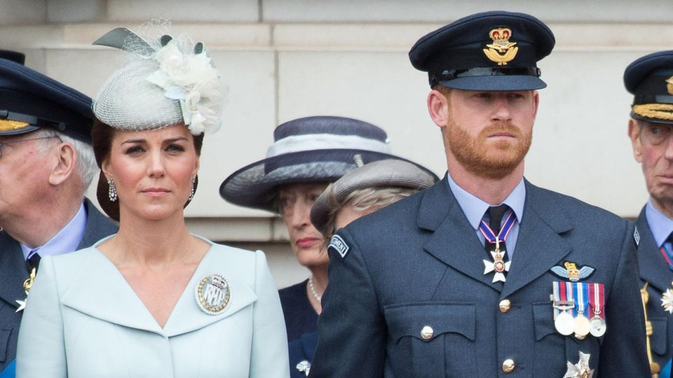 Herzogin Catherine und Prinz Harry