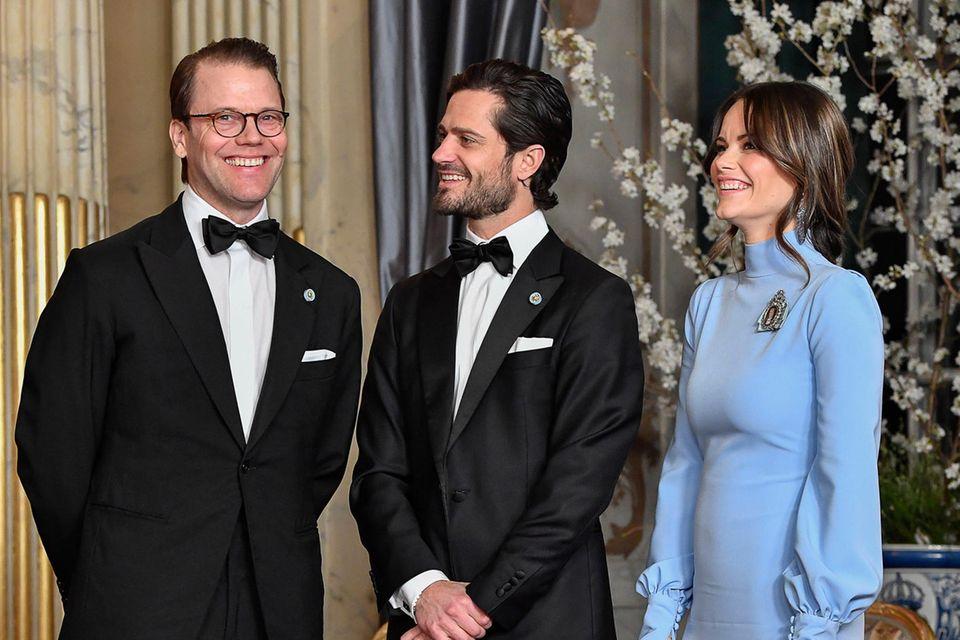 Prinz Daniel, Prinz Carl Philip und Prinzessin Sofia