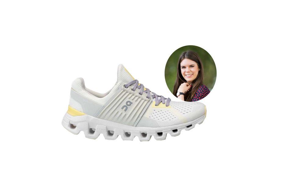 Mode- und Beauty-Redakteurin Jessica hat ihre sportliche Seite mit den Laufschuhen von On Running entdeckt.
