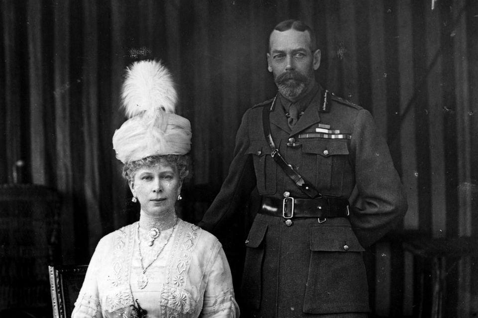 Sowohl König George als auch Königin Mary haben deutsche Vorfahren.
