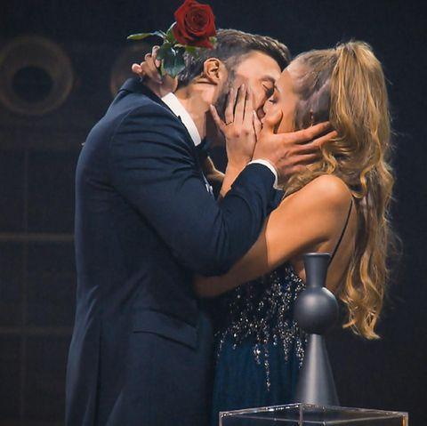 """Niko Griesert entschied sich im """"Bachelor""""-Finale 2021 für Kandidatin Mimi."""