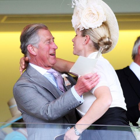 Prinz Charles und Zara Tindall