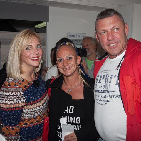 Danni Büchner mit Caro und Andreas Robens