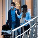 26. März 2021  Gerade erst am Vormittag hatte Prinzessin Sofia ihren dritten Sohn in der Stockholmer Danderyd-Klinik zur Welt gebracht, da verlässt das Prinzenpaar einige Stunden später das Krankenhaus auch schon wieder.