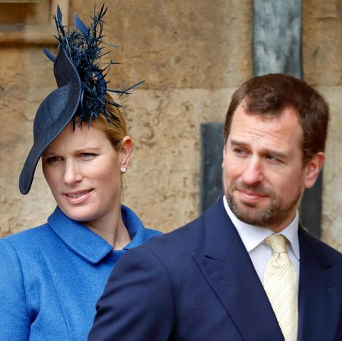 Zara Tindall und Peter Phillips