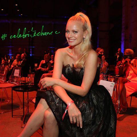 Franziska Knuppe auf dem Green Award