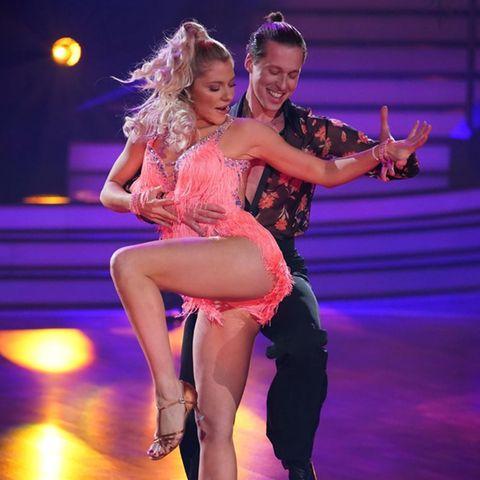 """Valentina Pahde und Valentin Lusin bei """"Let's Dance"""" (auf RTL und TVNow)"""