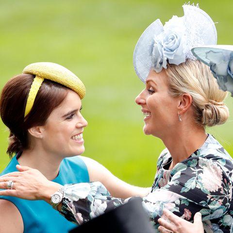 Prinzessin Eugenie + Zara Tindall