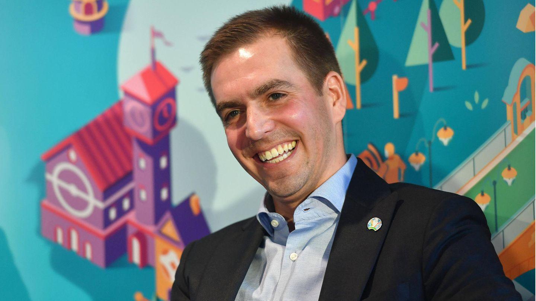 Philipp Lahm Dieses Foto Mit Seinen Kindern Hat Seltenheitswert Gala De
