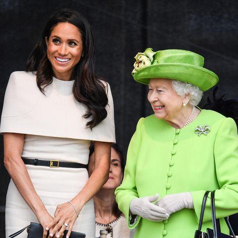 Herzogin Meghan und Queen Elizabeth während eines gemeinsamen Termins im Juni 2018