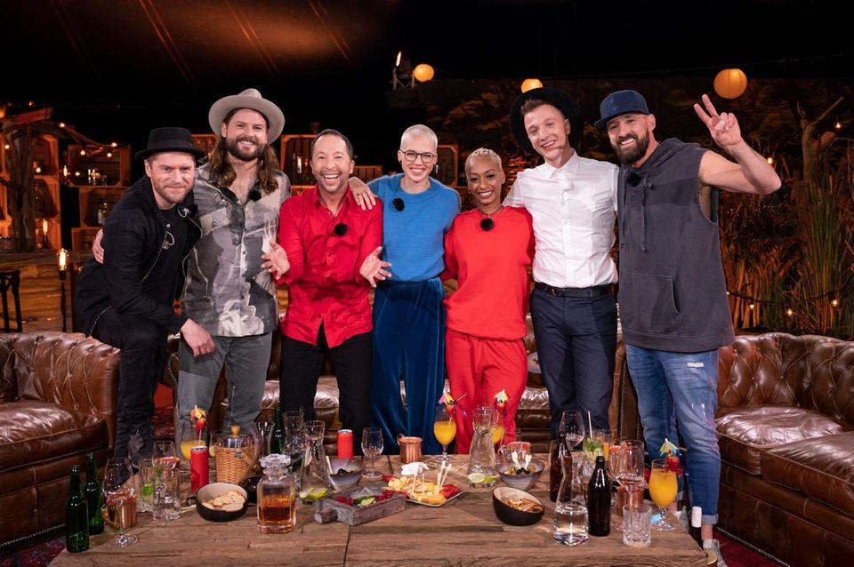 """Johannes Oerding, Ian Hooper, DJ BoBo, Stefanie Heinzmann, Nura, Joris und Gentleman bei """"Sing meinen Song"""" (auf Vox und TVNow)"""