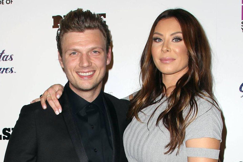 Nick Carter und Ehefrau Lauren Kitt Carter