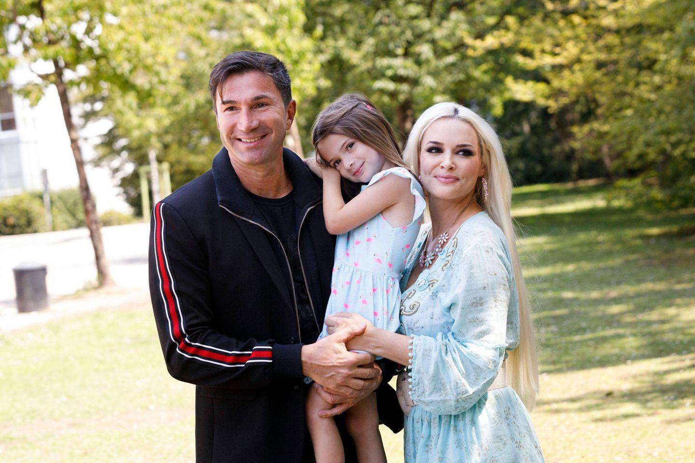 Lucas Cordalis, Tochter Sophia und Daniela Katzenberger