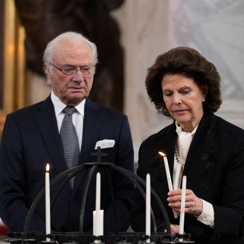 König Carl Gustaf und Königin Silvia