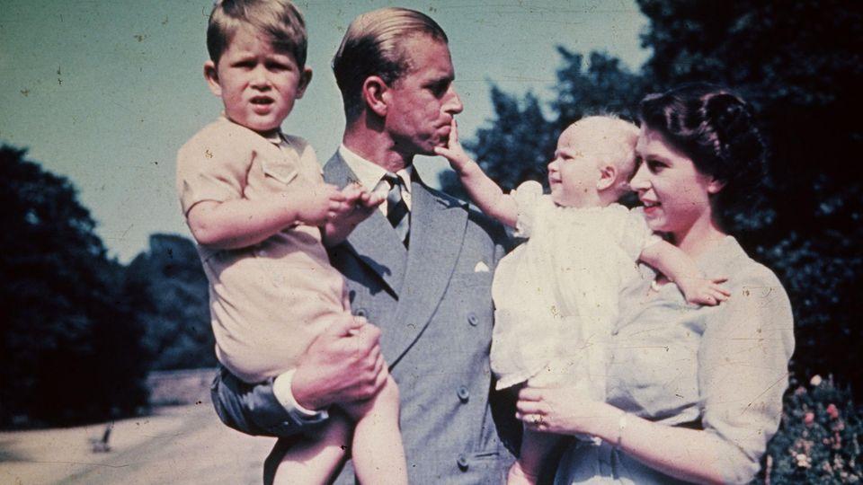 Prinz Philip + Familie