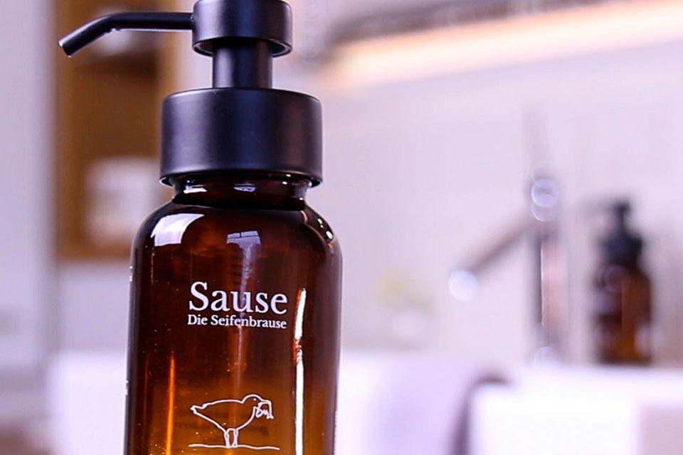 Sause– Die Seifenbrause, Glaspumpspender