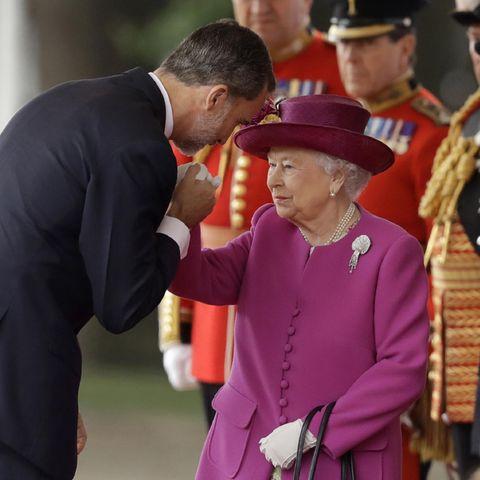 König Felipe und Queen Elizabeth