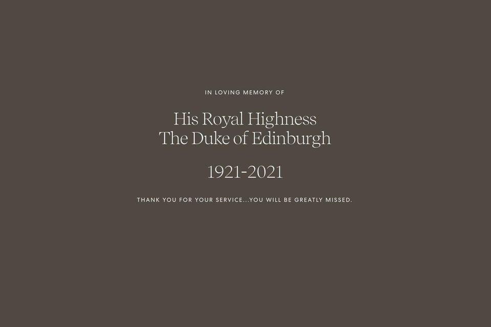 Prinz Harry und Herzogin Meghan nehmen Abschied.