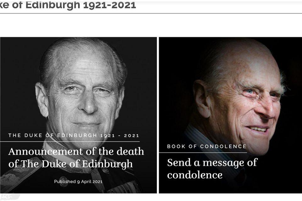 Es heißt: Abschied nehmen vom Herzog von Edinburgh.