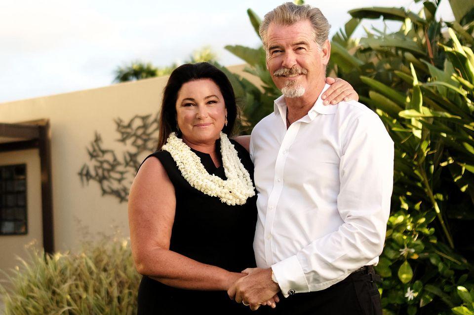Pierce Brosnan mit Ehefrau Keely