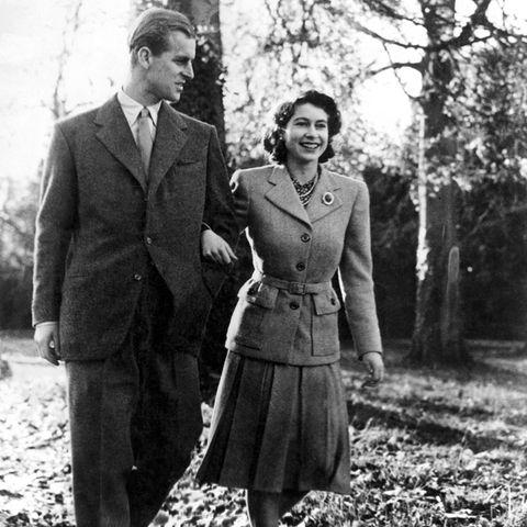 Prinz Philip und Prinzessin Elizabeth