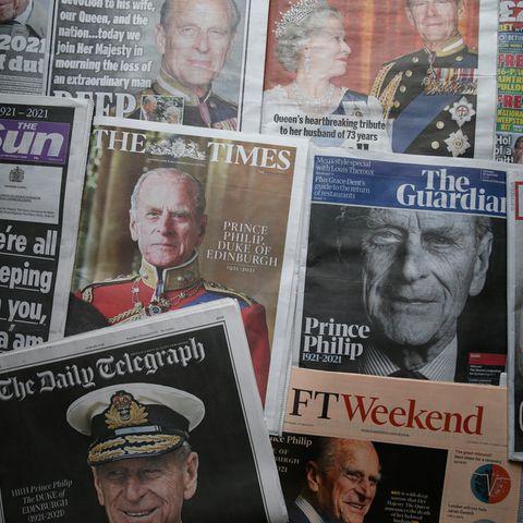Die britische Presse verabschiedet sich von Prinz Philip (†99)