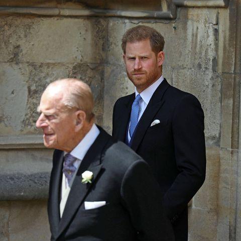 Prinz Philip (†99) und Prinz Harry