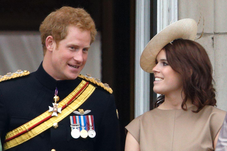 Prinz Harry, Prinzessin Eugenie