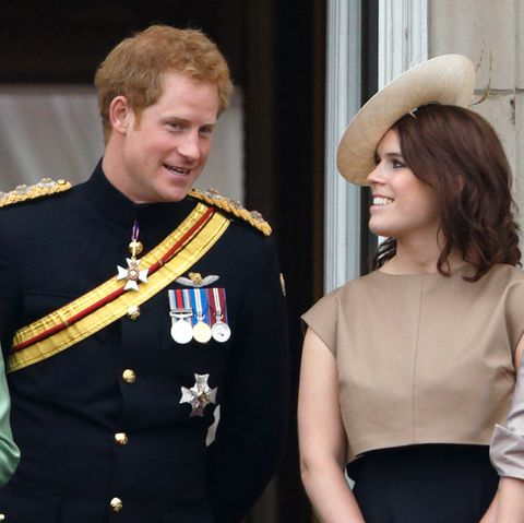 Prinz Harry, Prinzessin Eugenie