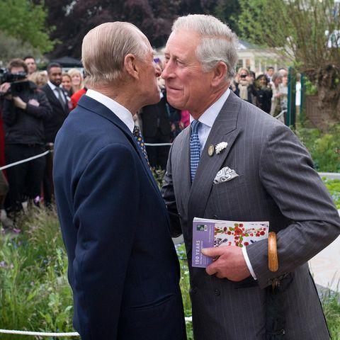 Prinz Philip und Prinz Charles