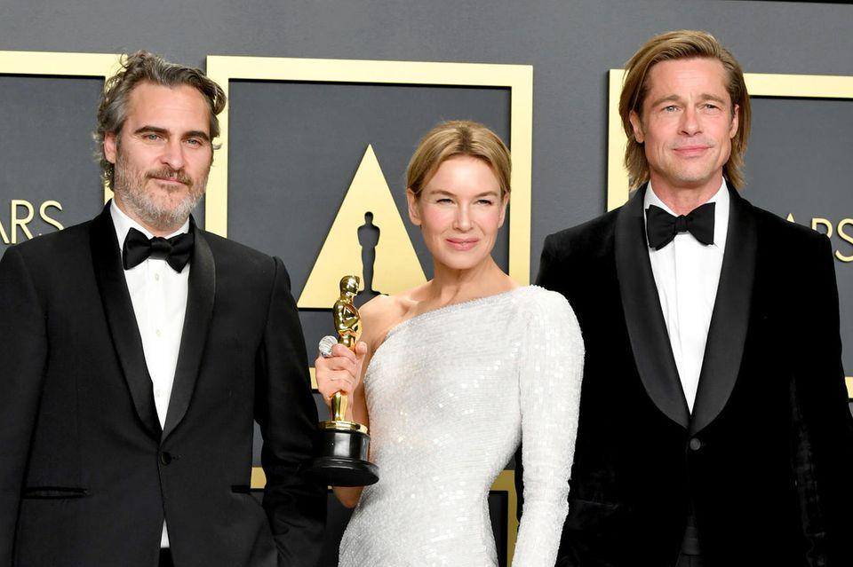 Joaquin Phoenix, Renée Zellweger und Brad Pitt wurden 2020 alle mit einem Oscar ausgezeichnet und übernehmen in diesem Jahr jeweils eine Laudatio.