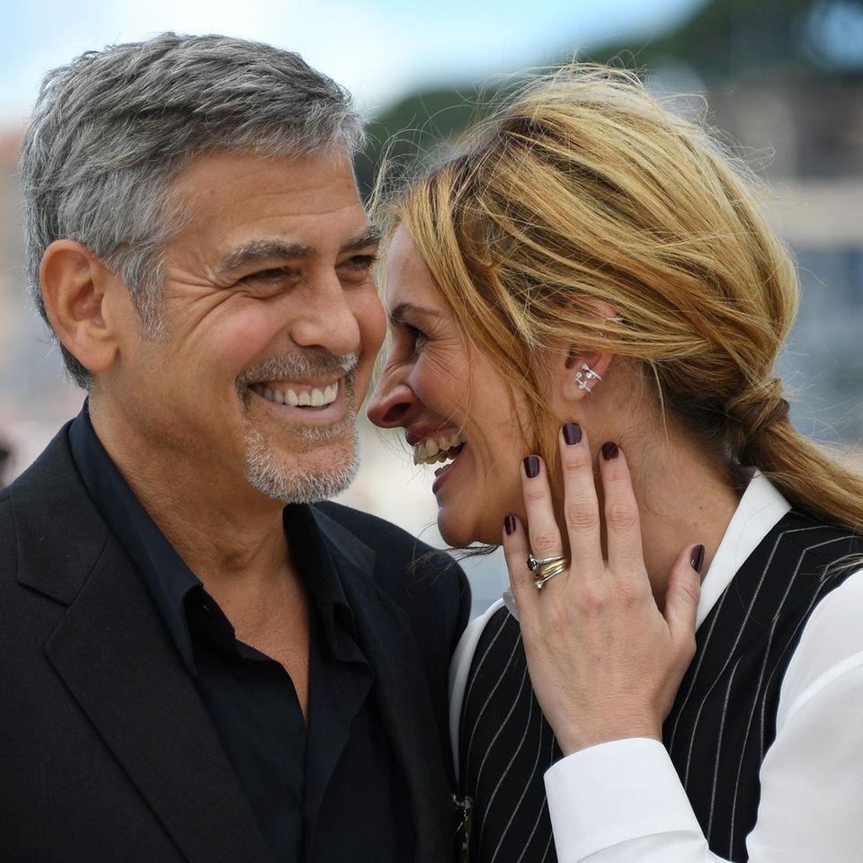 George Clooney und Julia Roberts